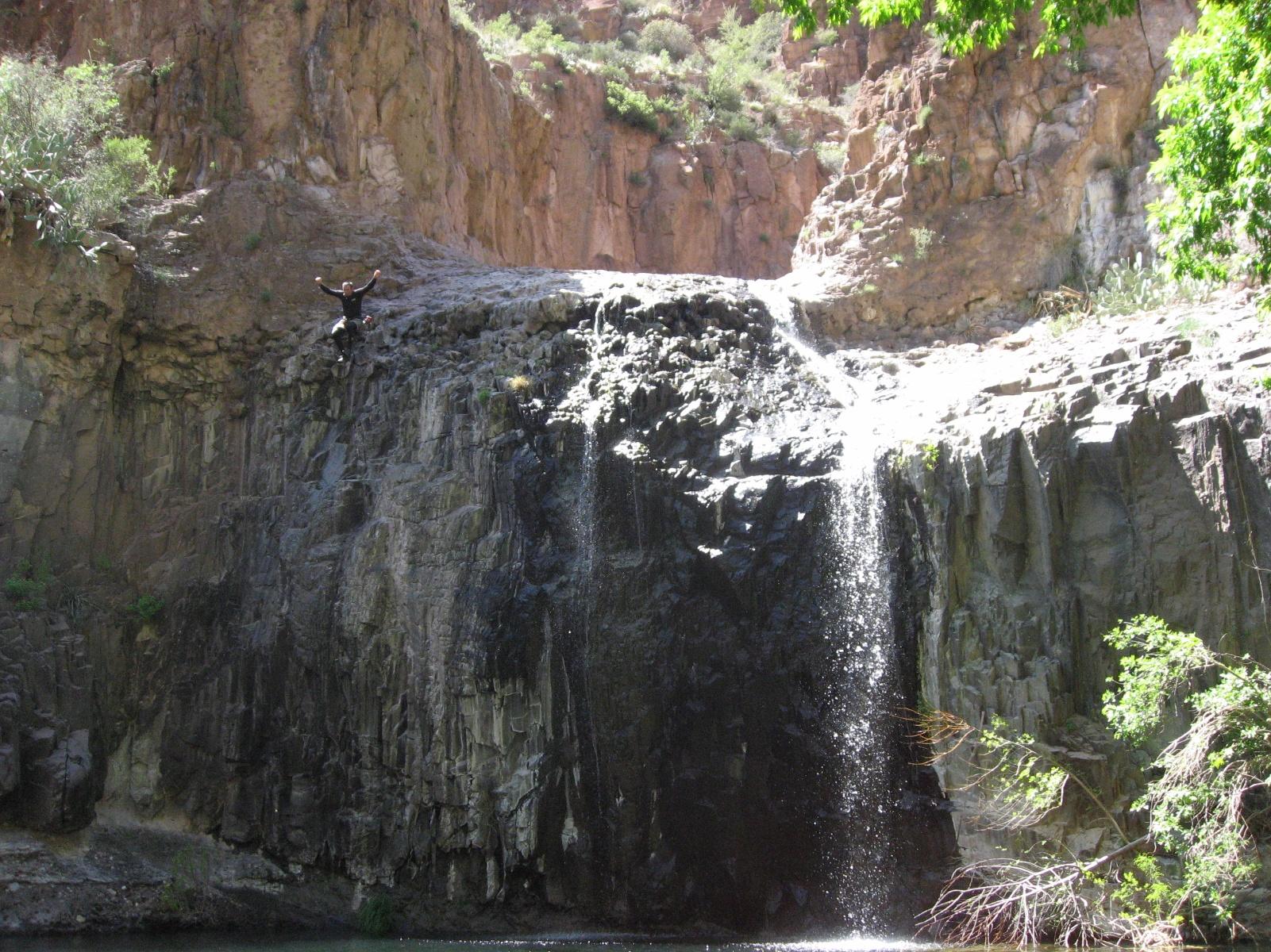 Devils Canyon Arizona Canyoneering