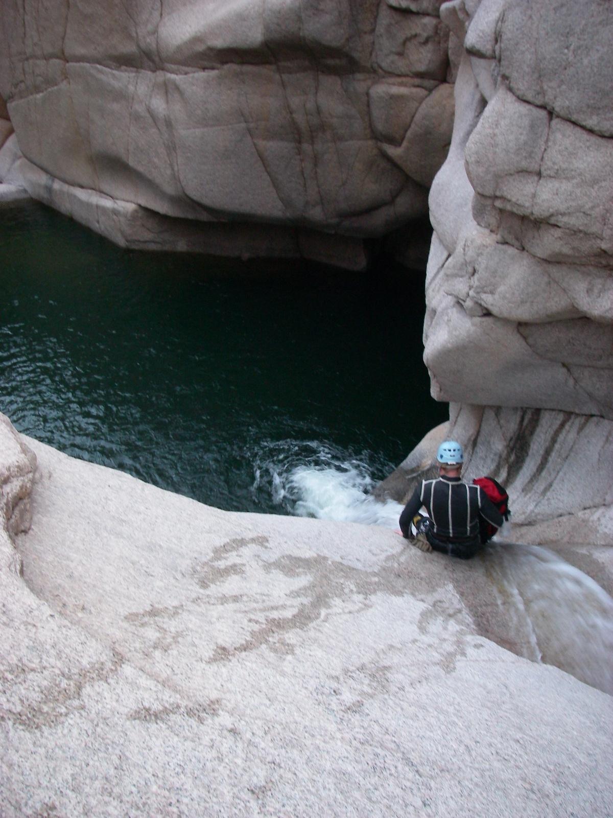Salome Grotto Arizona Canyoneering
