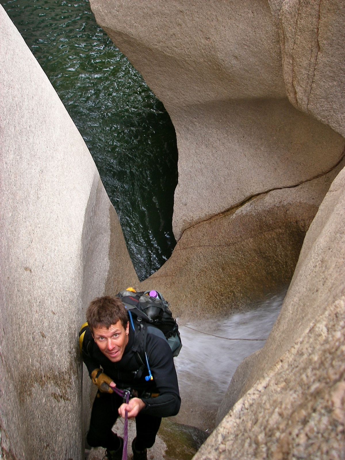 Salome Grotto Arizona Canyoneering
