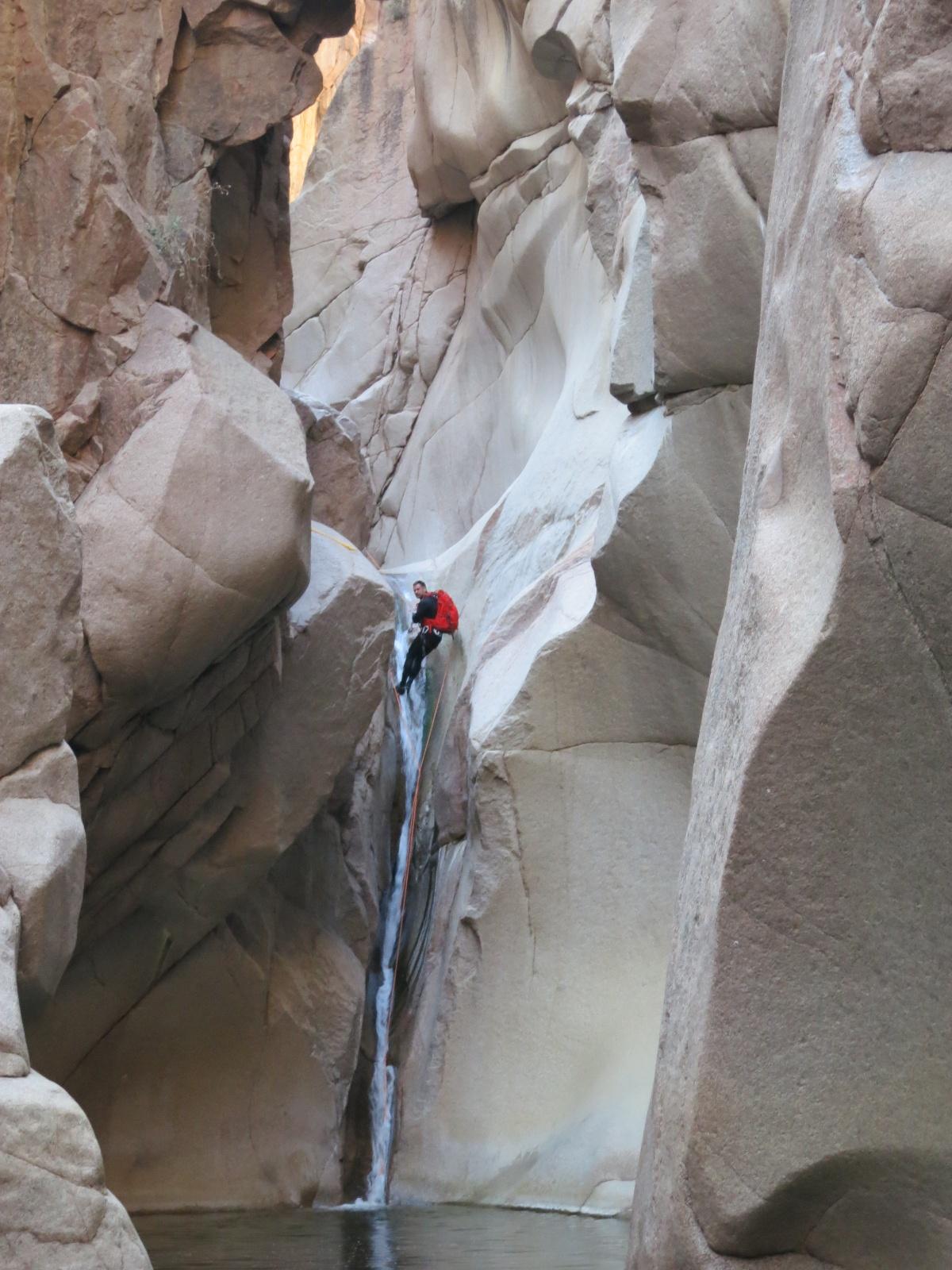 Salome Jug Arizona Canyoneering